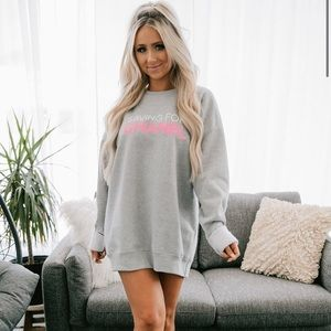 "NanaMacs Sweaters - ""Saving for Chanel"" Graphic Crew Neck Sweatshirt"